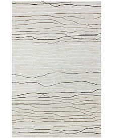 "CLOSEOUT! Waves 5'6"" x 8'6"" Area Rug"