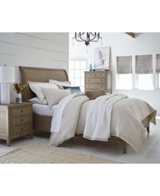 Grainy Wood Surfaces Finished In A Rich Drifted Gray Oak Tone And An  Overall Traditional Design Imbue The Ludlow Sleigh Bedroom Furniture  Collection With An ...