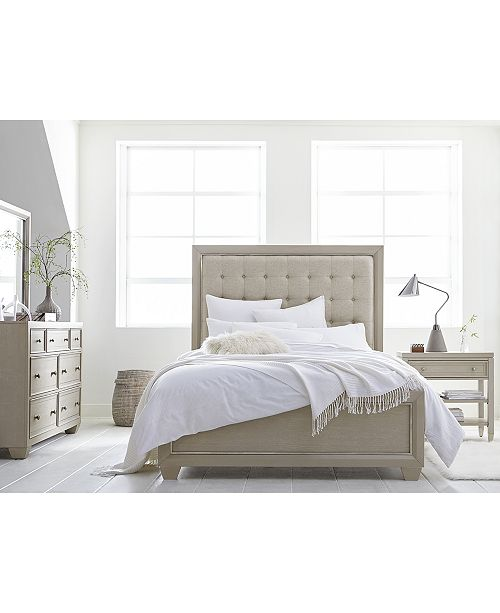 Kelly Ripa Kendall Bedroom Furniture, 3-Pc. Set (Queen Bed, Dresser &  Nightstand), Created for Macy\'s
