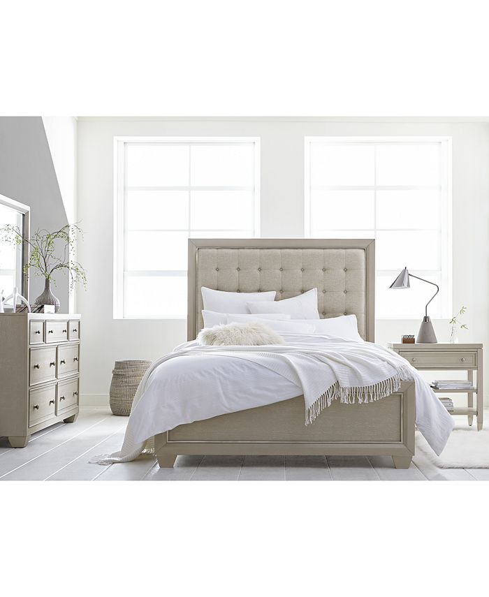 Furniture - Kendall Bedroom  Set, 3-Pc. Set (Queen Bed, Dresser & Nightstand), Only at Macy's