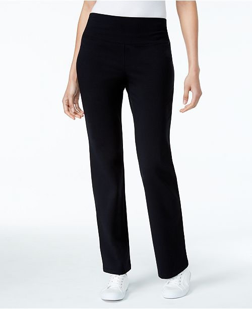 dc0c9190cd5 ... Style   Co Tummy-Control Bootcut Pull-On Pants