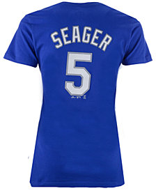 Majestic Women's Corey Seager Los Angeles Dodgers Crew Player T-Shirt