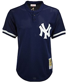 Men's Mariano Rivera New York Yankees Authentic Mesh Batting Practice V-Neck Jersey