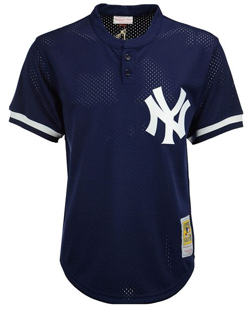 best sneakers d7c2c 657be Men's Mariano Rivera New York Yankees Authentic Mesh Batting Practice  V-Neck Jersey