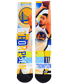 For Bare Feet Klay Thompson Golden State Warriors Pro Stripe Player 308S Crew Sock