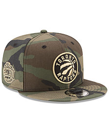 New Era Toronto Raptors Metallic Woodland 9FIFTY Snapback Cap
