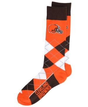 Cleveland Browns Argyle Dress Socks