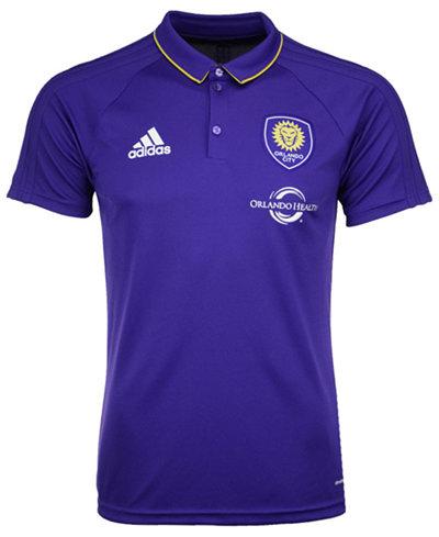 adidas Men's Orlando City SC Coaches Polo