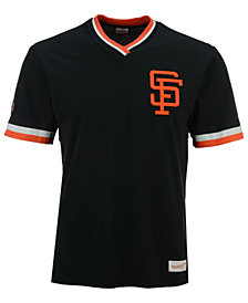 Mitchell & Ness Men's San Francisco Giants Coop Overtime Vintage Top