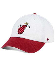 '47 Brand Miami Heat 2-Tone CLEAN UP Cap