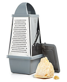 Martha Stewart Collection Cheese Grater & Storage, Created for Macy's,