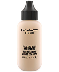 MAC Studio Face and Body Foundation, 1.7-oz.
