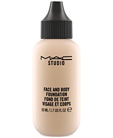 Studio Face and Body Foundation, 1.7-oz.