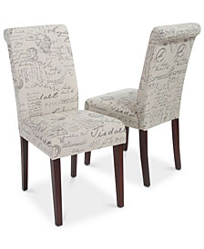 Mayson Dining Chair (Set Of 2), Quick Ship