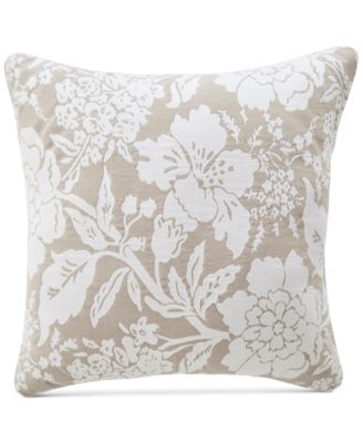 "CLOSEOUT! Nellie Floral 18"" Square Decorative Pillow"