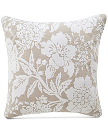 "Croscill Nellie Floral 18"" Square Decorative Pillow"