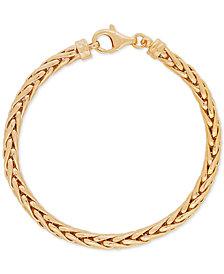 Spiga Link Bracelet in 10k Gold