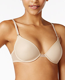 Natori Sheer Convertible Embroidered-Strap Bra 132005