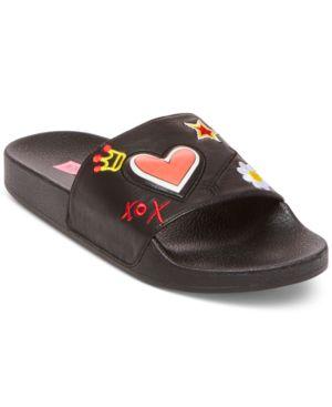 Betsey Johnson Reina Pool Slide Sandals Women