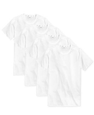 Men's 3+1 Bonus Pack Staycool And Cotton Undershirts