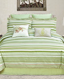 Ala Moana Reversible 8-Pc. King Comforter Set