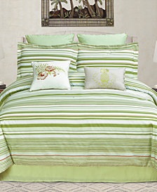 CLOSEOUT! Ala Moana Reversible 8-Pc. California King Comforter Set