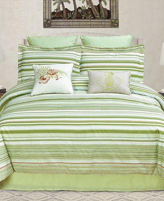 CLOSEOUT! Ala Moana Reversible 8-Pc. California King Comforter Set
