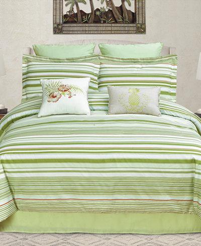 CLOSEOUT! Ala Moana Reversible 8-Pc. Queen Comforter Set