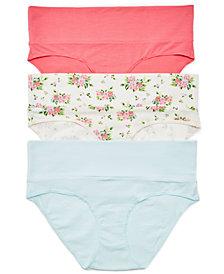 Motherhood Maternity 3-Pk. Fold-Over Panties