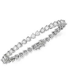 Diamond Tennis Bracelet (3 ct. t.w.) in 14k White Gold