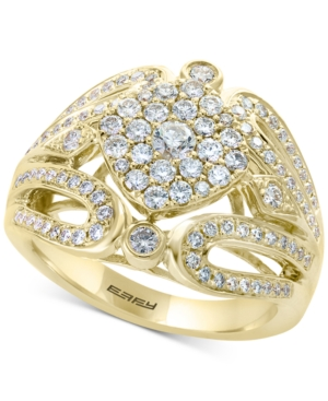 D'Oro by Effy Diamond Cluster Ring (1 ct. t.w.) in 14k Gold -  Effy Collection