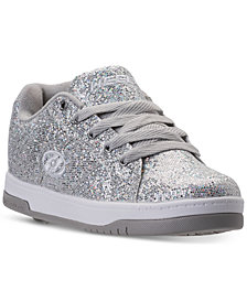 Heels Big Girls' Split Skate Casual Sneakers from Finish Line