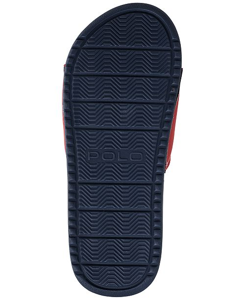 92608213d Polo Ralph Lauren Big Boys  Remi Slide Sandals from Finish Line ...