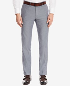 BOSS Men's Regular/Classic-Fit Stretch Trousers