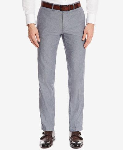 BOSS Men's Regular/Classic-Fit Stretch Trousers