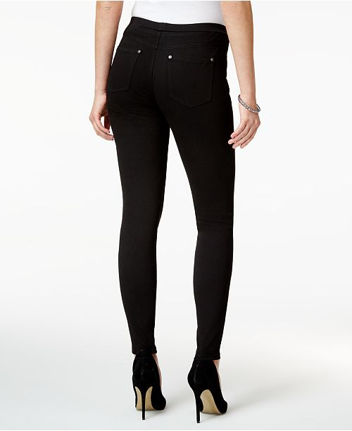 f98a09c7ddaf4 Style & Co Twill Pull-On Leggings, Created for Macy's & Reviews ...