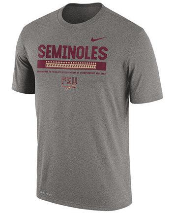 Image 1 of Nike Men's Florida State Seminoles Legend Staff Sideline T-Shirt