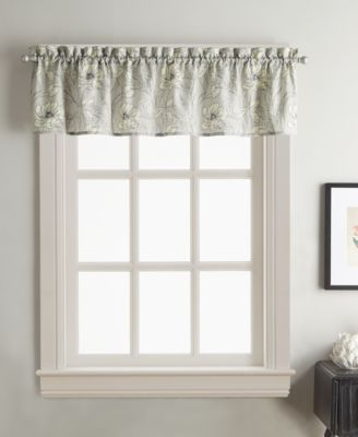 "Sketch Floral 58"" x 14"" Window Valance"