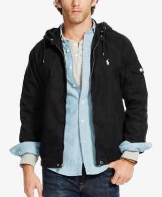 Polo ralph lauren jacket with hooded