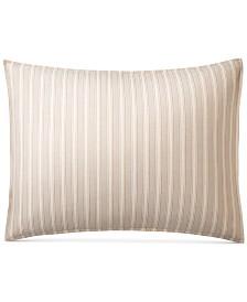 CLOSEOUT! Lauren Ralph Lauren Graydon Cotton Bold Stripe Standard Sham