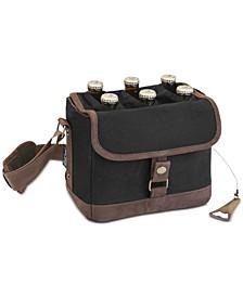 Legacy® by Black & Brown Beer Caddy Cooler Tote with Opener
