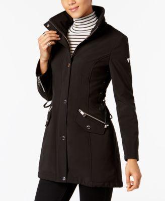 Guess black lace coat