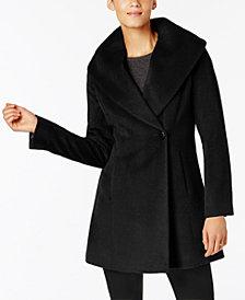 Trina Turk Asymmetrical Walker Coat
