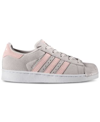 Image 1 of adidas Little Girls\u0027 Superstar Sneakers from Finish Line