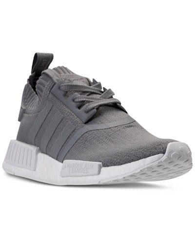 Adidas NMD R1 Tri Color Primeknit Black BB2887 Mens 8 13