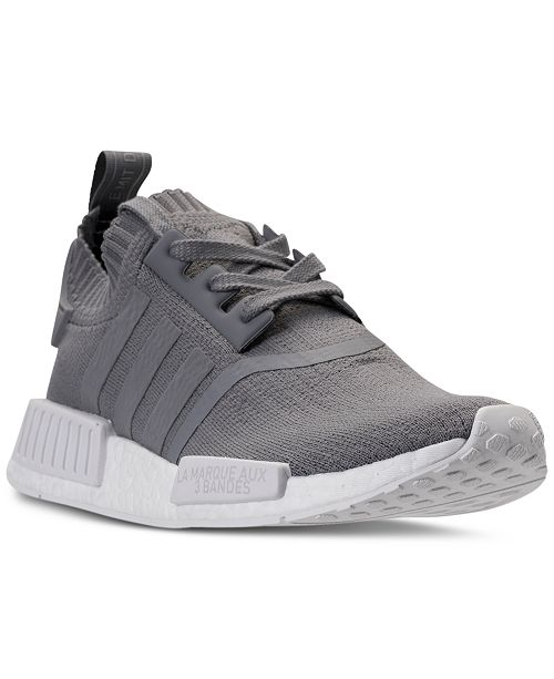 273e9b89dbbf7 ... adidas Women s NMD R1 Primeknit Casual Sneakers from Finish Line ...