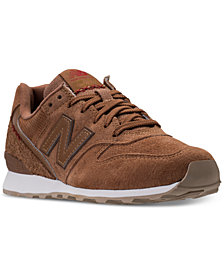New Balance Women's 696 Suede Casual Sneakers from Finish Line
