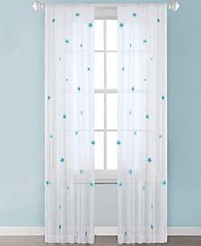 "Lily 52"" x 63"" Sheer Window Panel"
