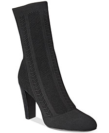 CHARLES by Charles David Shirley Herringbone Knit Booties
