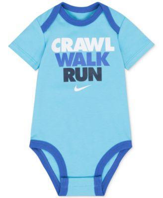 Nike Crawl Walk Run Cotton Bodysuit, Baby Boys (0-24 months)